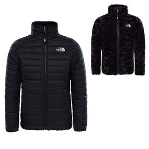 The North Face Girl's Reversible Mossbud Jacket